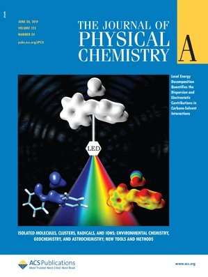 Journal of Physical Chemistry A: Volume 123, Issue 24