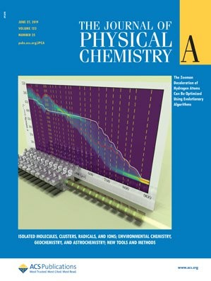 Journal of Physical Chemistry A: Volume 123, Issue 25
