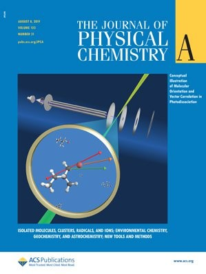 Journal of Physical Chemistry A: Volume 123, Issue 31