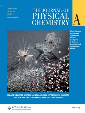 Journal of Physical Chemistry A: Volume 123, Issue 32