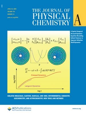Journal of Physical Chemistry A: Volume 124, Issue 16