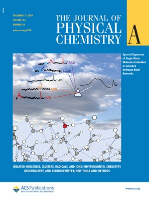 Journal of Physical Chemistry A: Volume 124, Issue 50