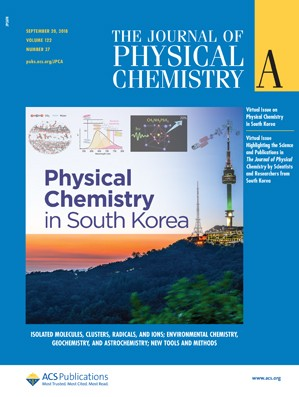 Journal of Physical Chemistry A: Volume 122, Issue 37