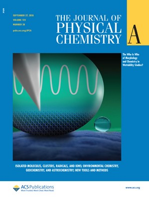 Journal of Physical Chemistry A: Volume 122, Issue 38