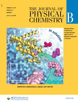 Journal of Physical Chemistry B: Volume 123, Issue 5