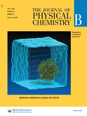 Journal of Physical Chemistry B: Volume 124, Issue 18