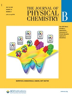 Journal of Physical Chemistry B: Volume 124, Issue 21