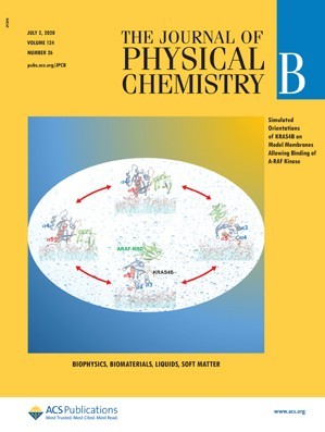Journal of Physical Chemistry B: Volume 124, Issue 26