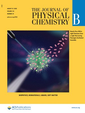 Journal of Physical Chemistry B: Volume 124, Issue 34