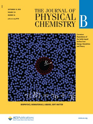 Journal of Physical Chemistry B: Volume 124, Issue 36
