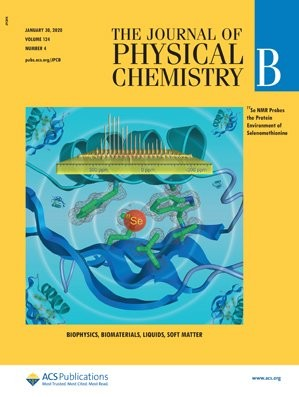 Journal of Physical Chemistry B: Volume 124, Issue 4