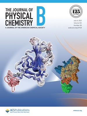 Journal of Physical Chemistry B: Volume 125, Issue 26