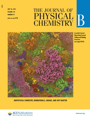 The Journal of Physical Chemistry B: Volume 118, Issue 29