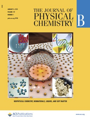 Journal of Physical Chemistry B: Volume 119, Issue 1
