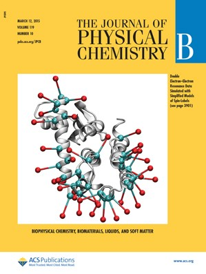 Journal of Physical Chemistry B: Volume 119, Issue 10