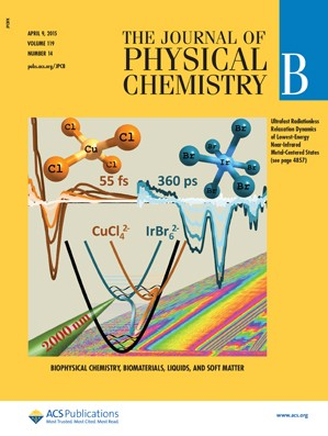 Journal of Physical Chemistry B: Volume 119, Issue 14
