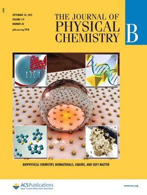 Journal of Physical Chemistry B: Volume 119, Issue 38