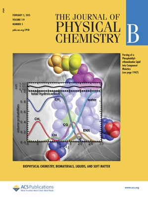 Journal of Physical Chemistry B: Volume 119, Issue 5