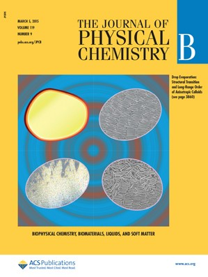 Journal of Physical Chemistry B: Volume 119, Issue 9