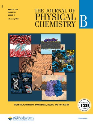 The Journal of Physical Chemistry B: Volume 120, Issue 11