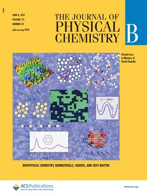 Journal of Physical Chemistry B: Volume 121, Issue 22