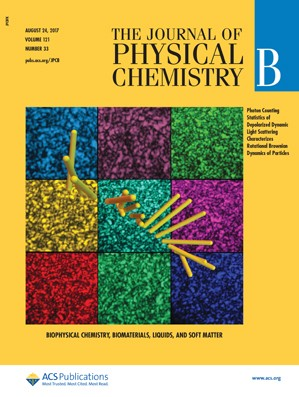 Journal of Physical Chemistry B: Volume 121, Issue 33