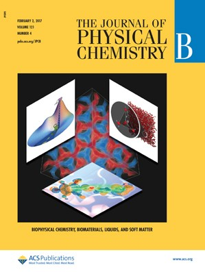 The Journal of Physical Chemistry B: Volume 121, Issue 4