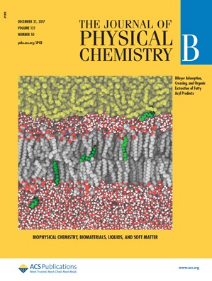 Journal of Physical Chemistry B: Volume 121, Issue 50