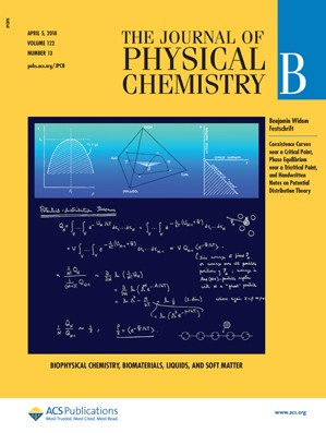 Journal of Physical Chemistry B: Volume 122, Issue 13