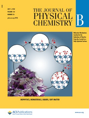 Journal of Physical Chemistry B: Volume 122, Issue 26