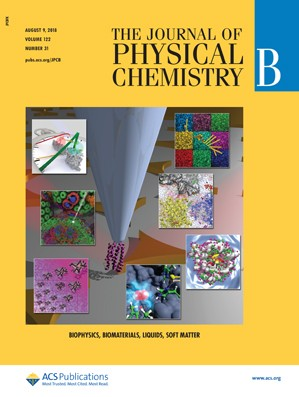 Journal of Physical Chemistry B: Volume 122, Issue 31