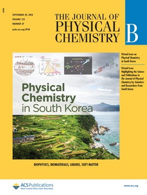 Journal of Physical Chemistry B: Volume 122, Issue 37