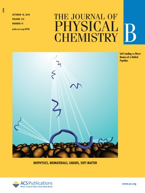 Journal of Physical Chemistry B: Volume 122, Issue 41