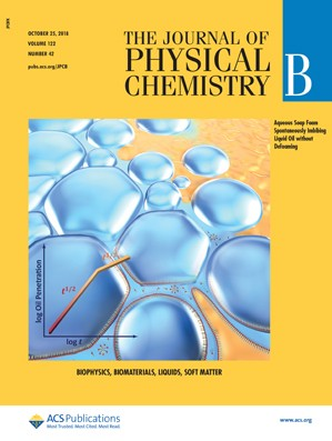 Journal of Physical Chemistry B: Volume 122, Issue 42
