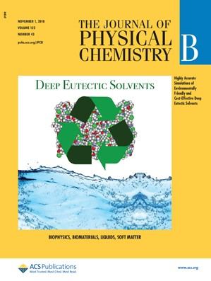 Journal of Physical Chemistry B: Volume 122, Issue 43