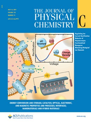 Journal of Physical Chemistry C: Volume 123, Issue 19