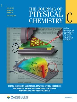Journal of Physical Chemistry C: Volume 123, Issue 21