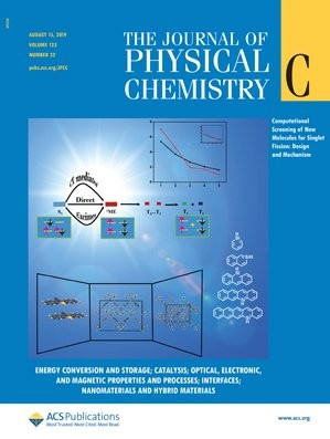 Journal of Physical Chemistry C: Volume 123, Issue 32