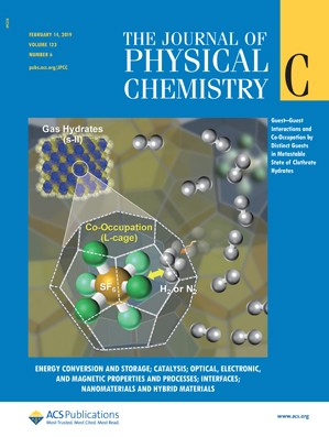 Journal of Physical Chemistry C: Volume 123, Issue 6