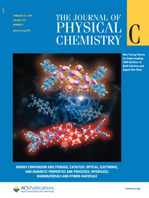 Journal of Physical Chemistry C: Volume 123, Issue 7