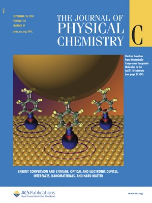 Journal of Physical Chemistry C: Volume 118, Issue 37