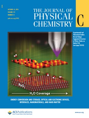 Journal of Physical Chemistry C: Volume 119, Issue 41
