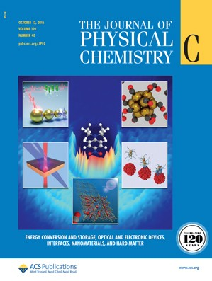 The Journal of Physical Chemistry C: Volume 120, Issue 40