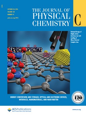 The Journal of Physical Chemistry C: Volume 120, Issue 41