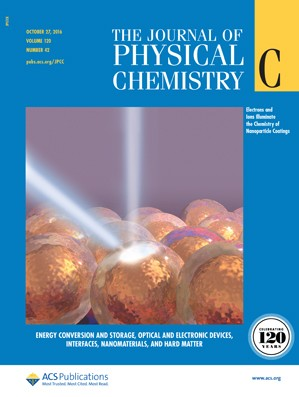 The Journal of Physical Chemistry C: Volume 120, Issue 42