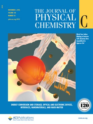 The Journal of Physical Chemistry C: Volume 120, Issue 43