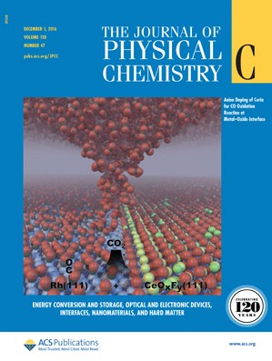 The Journal of Physical Chemistry C: Volume 120, Issue 47