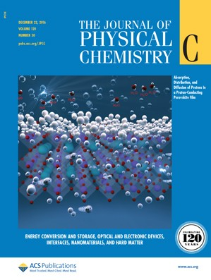 The Journal of Physical Chemistry C: Volume 120, Issue 50