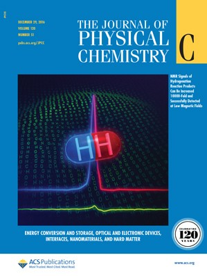 The Journal of Physical Chemistry C: Volume 120, Issue 51