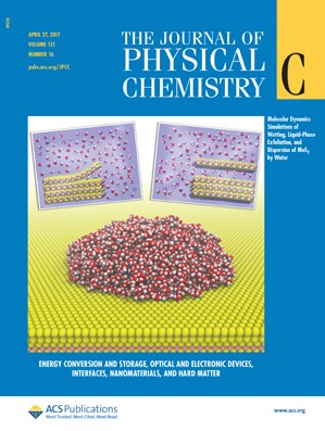 Journal of Physical Chemistry C: Volume 121, Issue 16